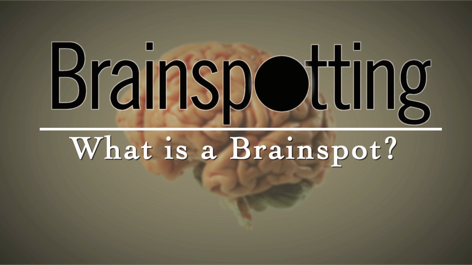 What is Brainspotting?